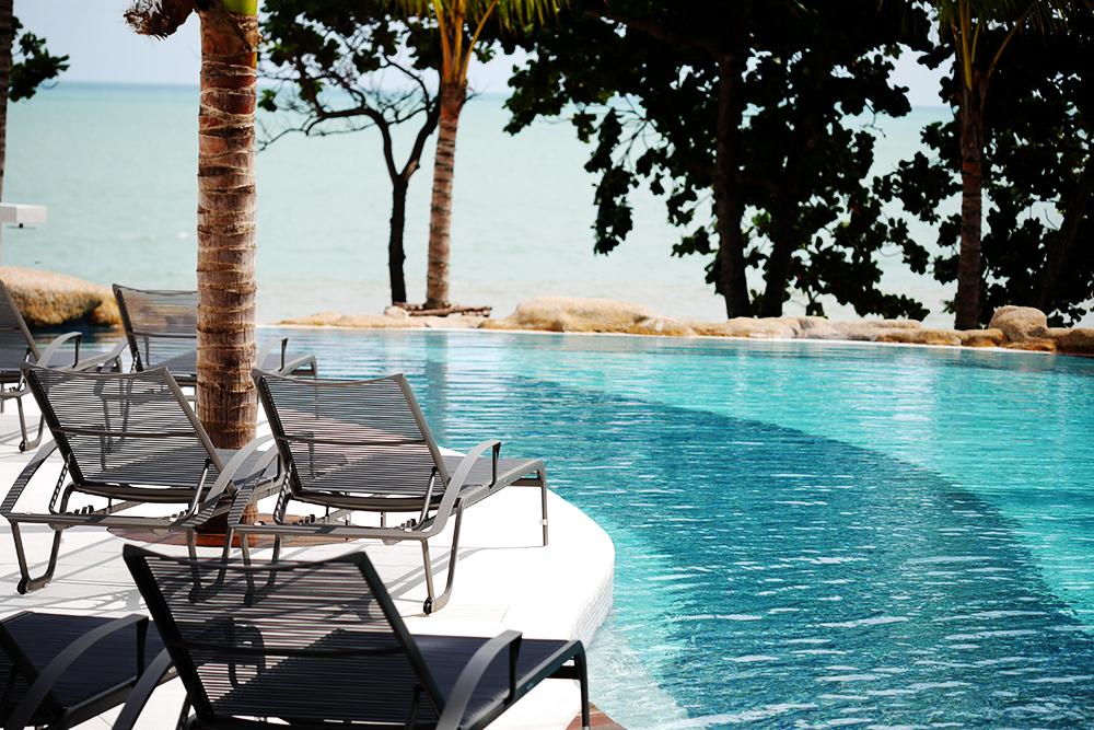 Pool White Sand Samui Resort Lamai Beach Resort