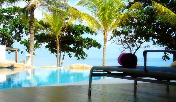 White Sand Pool relax Lamai Beach Resort